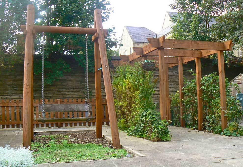 next step trust sensory garden